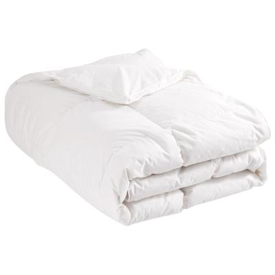 Light Warmth White Goose Down Comforter