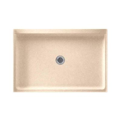 32 in. x 48 in. Solid-Surface Single Threshold Shower Floor in Cornflower Product Photo