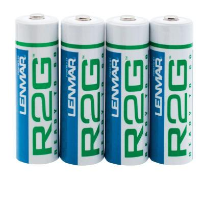 Nickel-Metal Hydride AA 2150mAh R2G Ready To Go Batteries with Protective
