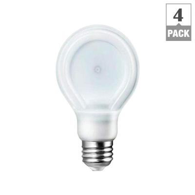 Philips SlimStyle 60W Equivalent Soft White (2700K) A19 LED Light Bulbs (4-Pack)