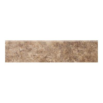 Campione Andretti 3 in. x 13 in. Porcelain Bullnose Floor and Wall Tile Product Photo