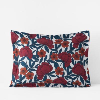 Company Cotton Alexandria Wrinkle-Free Floral Sateen Sham