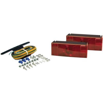 Low Profile Submersible Trailer Light Kit