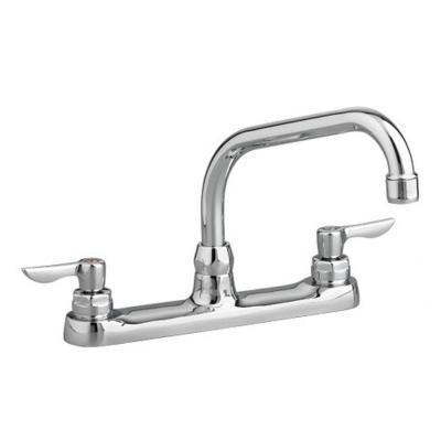 Monterrey 2-Handle Standard Kitchen Faucet with 8 in. Reach Gooseneck Spout in Polished Chrome Product Photo