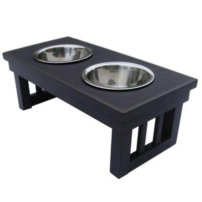 New Age Pet Habitat 'n Home Raised Double Diner EHHF201S