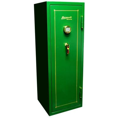 Homak Security 16 Gun Non Fire-Resistant Electronic Hunter Green Steel Security Safe