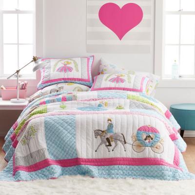 Storybook Princess Cotton Patchwork Quilt