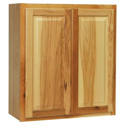 27x30x12 in. Hampton Wall Cabinet in Natural Hickory Product Photo