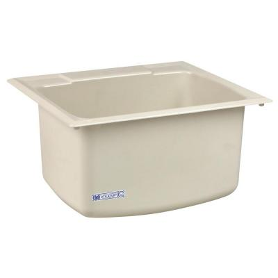 Utility Sink 22 in. x 25 in. Biscuit