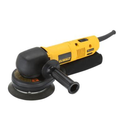 DEWALT 6 in. Right Angle Random Orbital Sander with Electronic Variable Speed