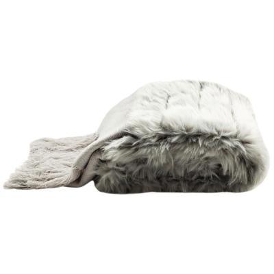 Faux Fur Alexi Bed Runner Throw