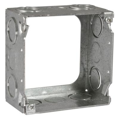 4 in. Square Welded Extension Ring, 2-1/8 in. Deep with 1/2