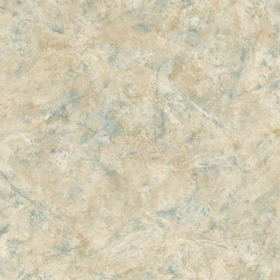 The Wallpaper Company 56 sq. ft. Earth Tone Marble Wallpaper-DISCONTINUED