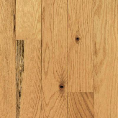 Red Oak Natural 3/4 in. Thick x 2-1/4 in. Wide x Random Length Solid Hardwood Flooring (18 sq. ft. / case) Product Photo