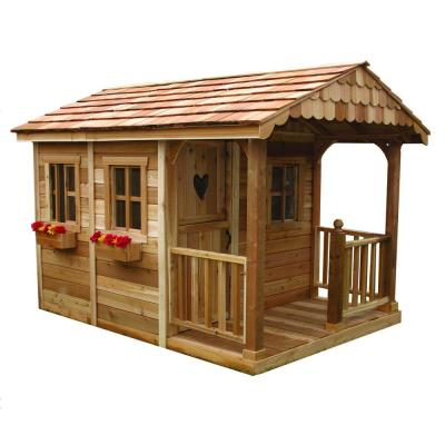 Outdoor Living Today 6 ft. x 9 ft. Sunflower Playhouse