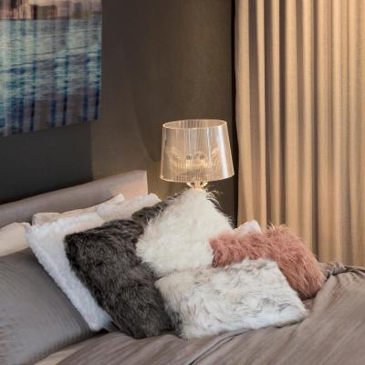 Belton Faux Sheepskin Decorative Pillow (Set of 2)