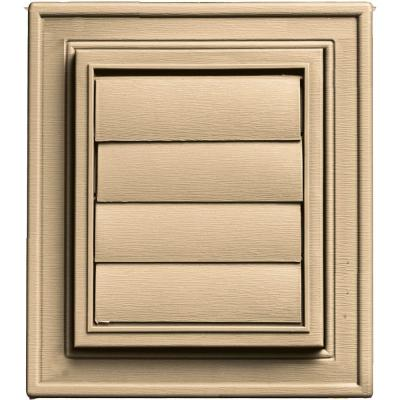 Square Exhaust Siding Vent #045-Sandstone Maple Product Photo