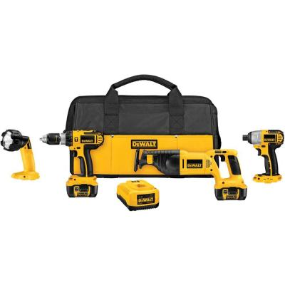 18-Volt XRP Lithium-Ion Cordless Combo Kit (4-Tool)
