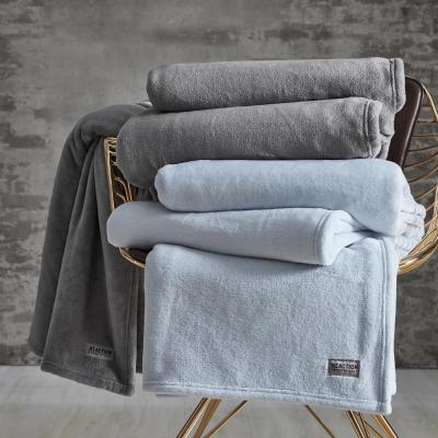 KCR Solid Ultra Soft Plush Blanket
