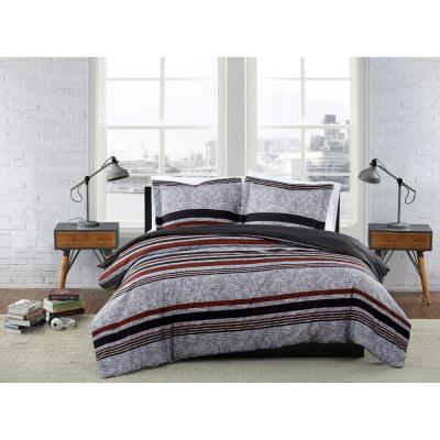 Warren Stripe Comforter Set