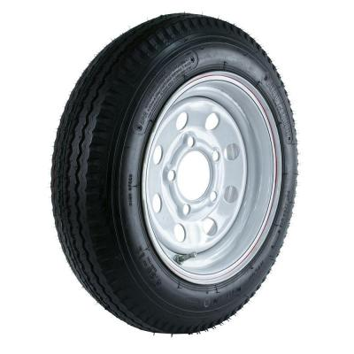 480-12 Load Range C 5-Hole Mod Trailer Tire and Wheel Assembly