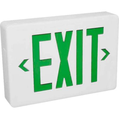 Progress Lighting LED Emergency Exit Sign with Green Letters-DISCONTINUED