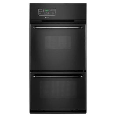 Maytag 24 in. Single Gas Wall Oven in Black