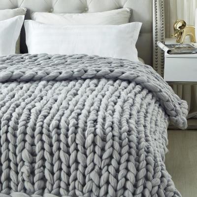 Berenice 50 in. x 70 in. Throw Blanket Cozy 100% Polyester