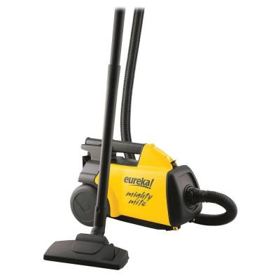 12 Amp Canister Vacuum in Yellow and Black
