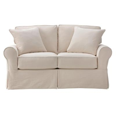 Home Decorators Collection Mayfair Classic Natural Loveseat