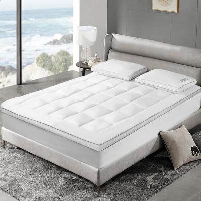 """3"""" White Down Fiber Top Featherbed"""
