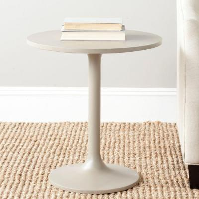 Safavieh Nate Pearl Taupe End Table