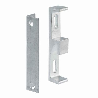 Die-Cast Zinc Hook-Style Sliding Glass Door Keeper