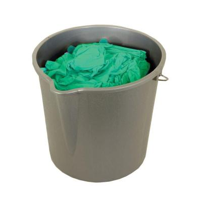 Trimaco Green Vinyl Gloves in Bucket - Large (300-Count)