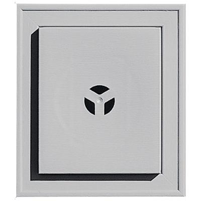 Builders Edge Square Mounting Block #016 Gray