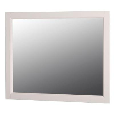 Claxby 31.4 in. W x 25.6 in. H Wall Mirror in Cream Product Photo