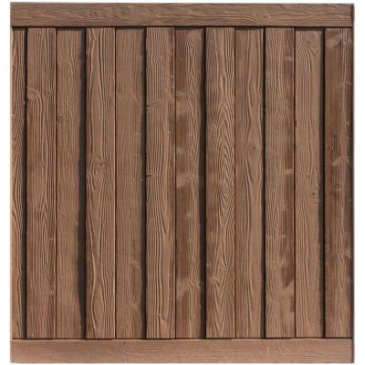 Ashland 6 ft. H x 6 ft. W Red Cedar Composite Fence Panel Product Photo