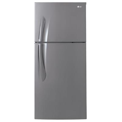 LG Electronics 15.7 cu. ft. Top Freezer Refrigerator in Platinum Finish