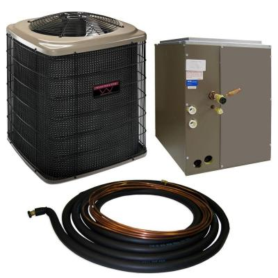 Winchester 2.5-Ton 13 SEER Quick Connect Heat Pump System with 17.5 in. Coil and 30 ft. Line Set-DISCONTINUED