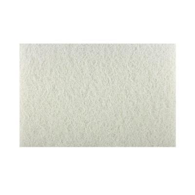 Diablo 12 in. x 18 in. Non-Woven White Buffer Pad (5-Pack)