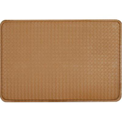 DISCONTINUED Camel Brown Anti Fatigue Mat 24 in. x 36 in-DISCONTINUED