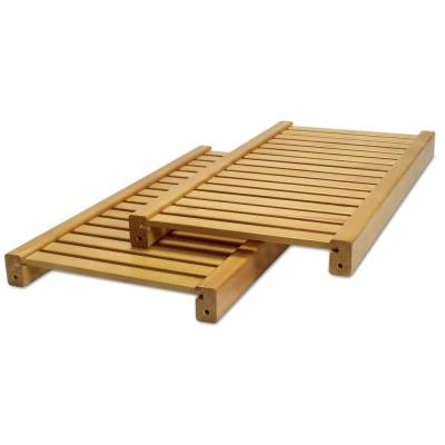 12 in. Deep Adjustable Shelf Kit in Honey Maple