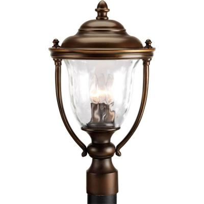 Progress Lighting Prestwick Collection Oil Rubbed Bronze 3-light Post Lantern