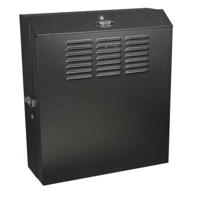 SmartRack 5U Low-Profile Vertical-Mount Switch-Depth Wall-Mount Rack Enclosure