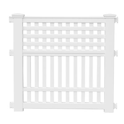 Grand View 35.75 in. Resin Garden Fence Product Photo