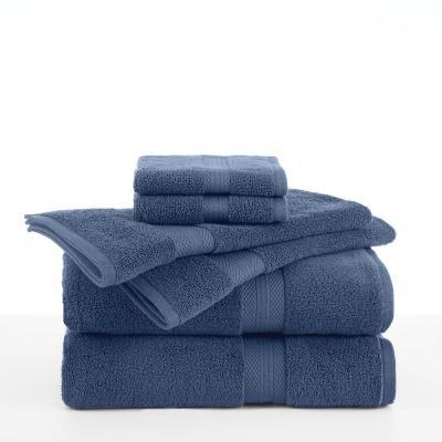Abundance 6 Piece Cotton Blend Towel Set