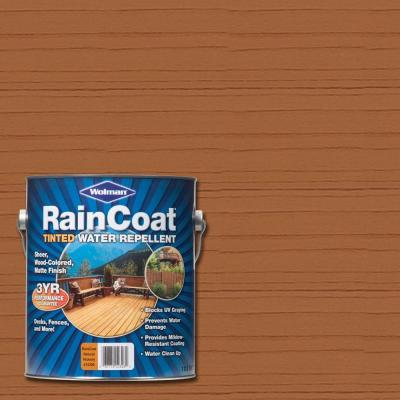1 gal. Raincoat Tinted Natural Hickory Water Repellent Sealer (Case of