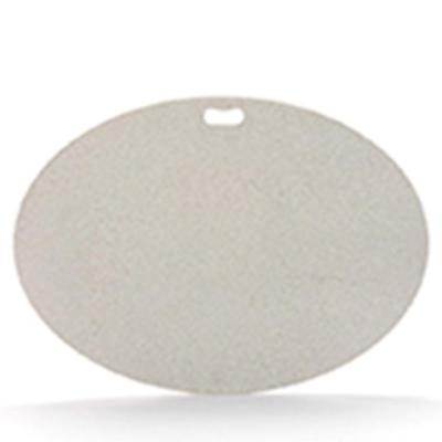 42 in. x 30 in. Oval Granite Gray Deck Protector