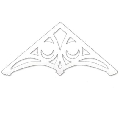 80-15/16 in. x 35-15/16 in. x 1 in. Polyurethane Holland Gable Pediment Product Photo