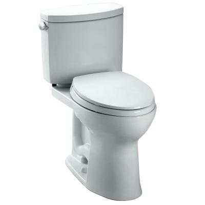 Toto Drake II 2-Piece 1.28 GPF Elongated Toilet in Cotton
